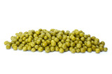 Small pile of conserved green peas poster