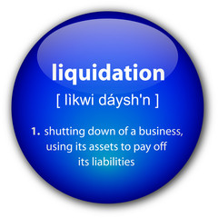 """liquidation"" definition button"