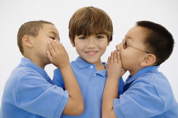 Boys Whispering