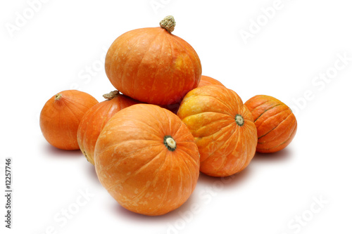 Golden Nugget pumpkins (Squash)