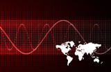 Global Economic Crisis Abstract poster