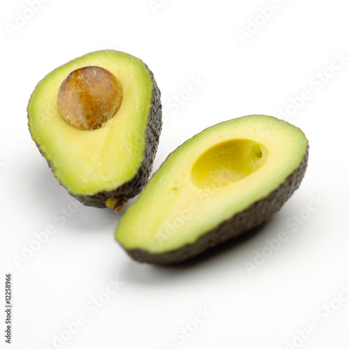 Isolated avocado
