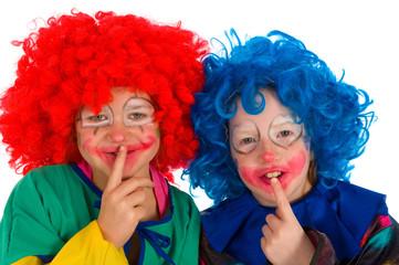 Clowns children