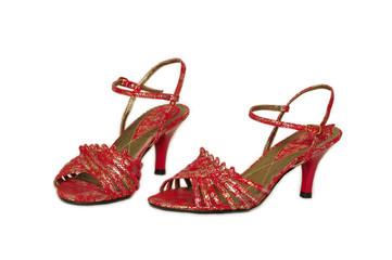 A elegant shoes to a elegant woman