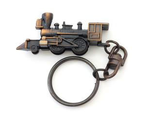 Locomotive key chain