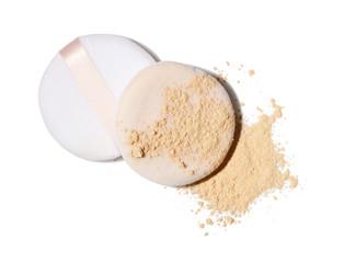 face powder and applicators