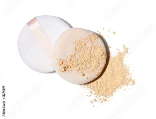 face powder and applicators