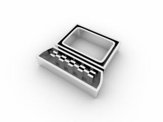 Icona 3D: computer