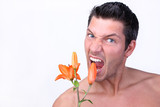 Men Flower Health poster