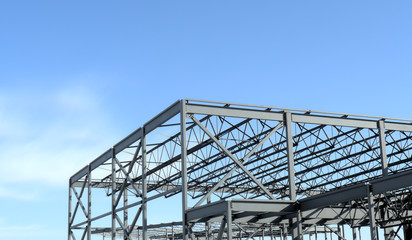 New Steel Building Construction