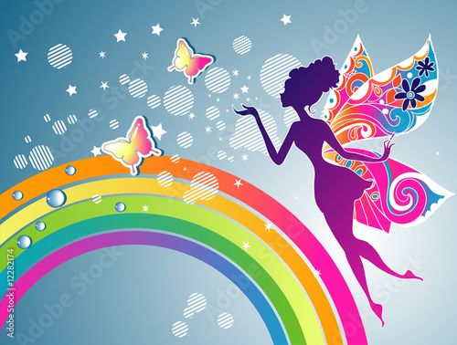 Rainbow Fairy graphic