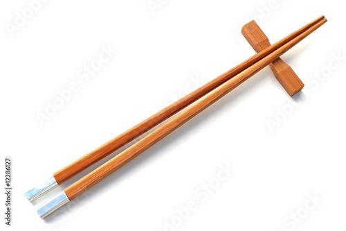 Des baguettes chinoises photo libre de droits sur la - Comment tenir des baguettes chinoises ...