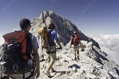 kurz vor dem Gipfel des Triglav - 12287500