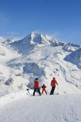 Family and ski