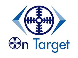 On Target Vector Logo Design Element