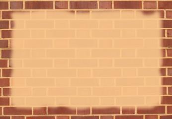 Brick Border With Copy Space
