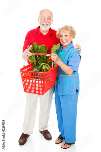 Senior Shoppers Full Body