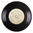 Leinwanddruck Bild - old vinyl record
