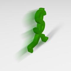 Dollar Sign, Running Away
