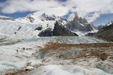 Treking Glaciar Torre, Argentina