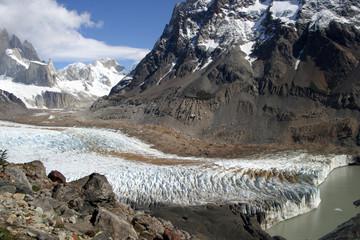 Laguna y Glaciar Torre, Argentina