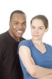 interracial couple poster