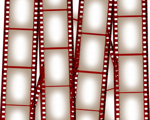 Blank film background