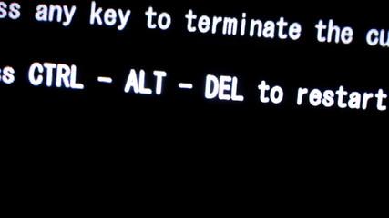 fatal computer error
