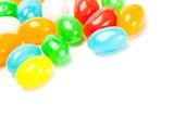 vibrant color candies poster