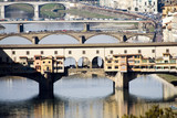 Ponte Vecchio in Florence, Italy poster