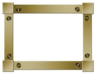 cadre métallique