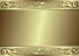Gentle silvery background (vector) poster
