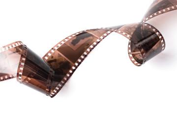 negative film isolated