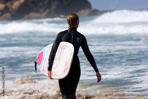Blonde Surferin