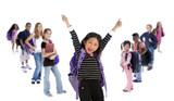 Fototapety School Kids Diversity