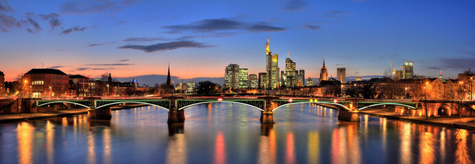 Panorama von Frankfurt am Main