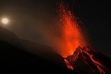 Stromboli, nächtliche Eruption