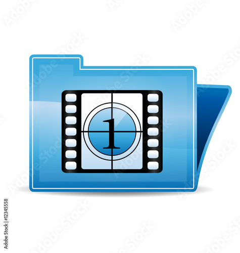 Movie icon folder