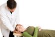 Chiropractic Adjustment Isolated