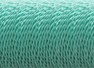 Coil of polypropylene rope
