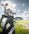 roleta: golf equipment at the course