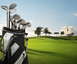 golf equipment and course