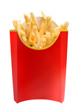 fast food french fries poster