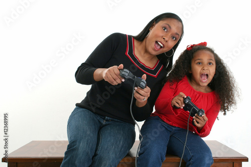poster of Mother and Daughter Video Games