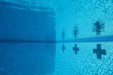 Swimming pool, underwater
