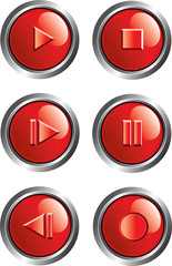 red player buttons