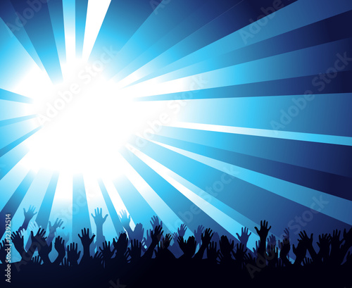 blue background vector. Glaring Blue Background and