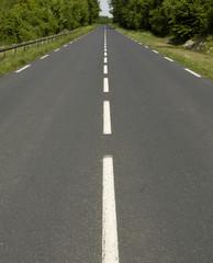 petite route à la campagne