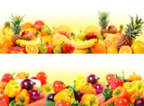 vegetables and fruit composition - 12393951