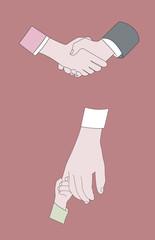 Vector Handshake